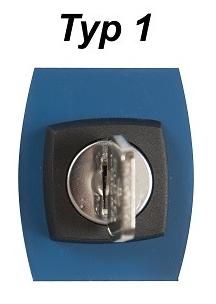 bokningscylinder typ 1